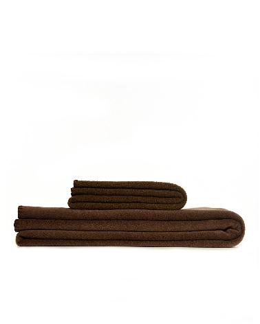 Throw Fleece Chocolate