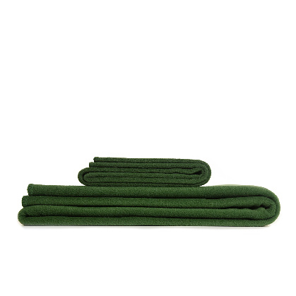Throw Fleece Forest Green