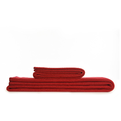 Throw Fleece Red