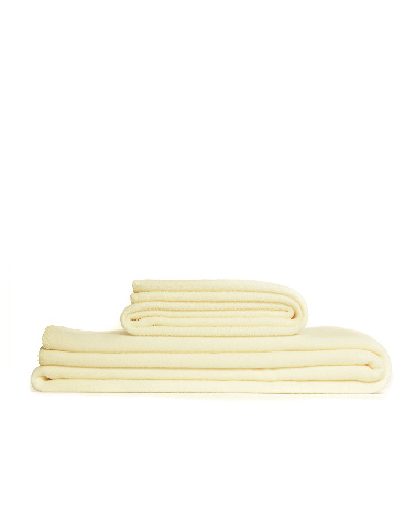 Throw Fleece Cream