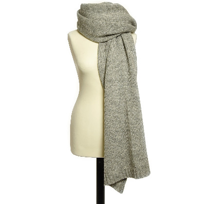 Accessories Scarf Knitted Grey