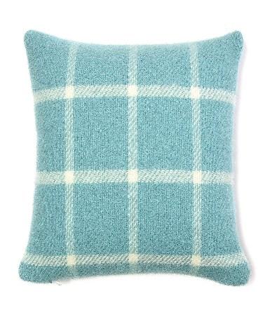 Cushion Chequered Check Spearmint