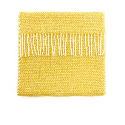 Baby Pram Blanket Beehive Yellow