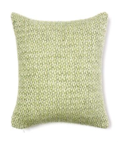 Cushion Illusion Green & Grey