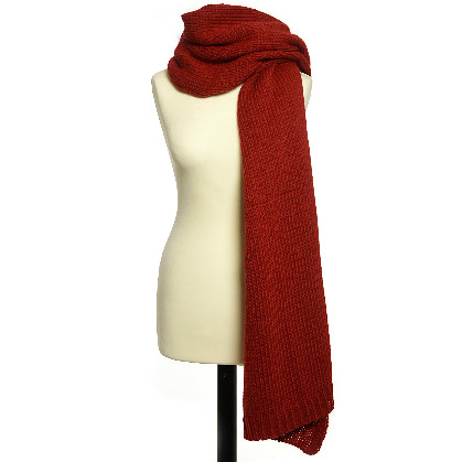 Accessories Scarf Knitted Red