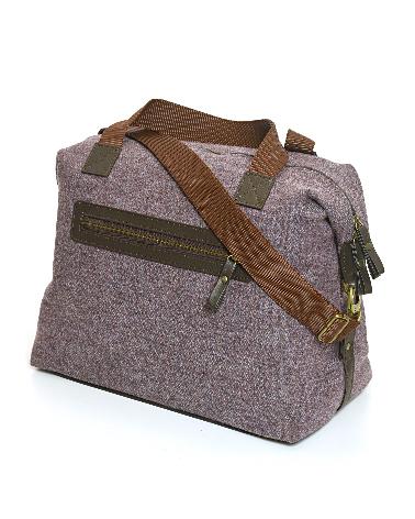 Weekender Bag Herringbone Heather