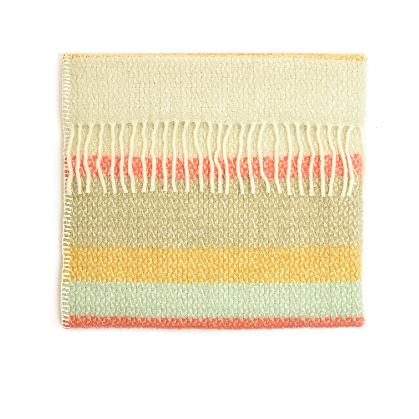 Baby Pram Blanket Spring Stripe